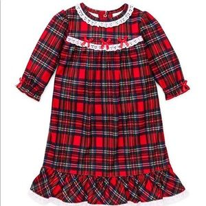Red Plaid Christmas Night Gown